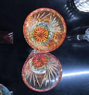 电镀玻璃装饰杯