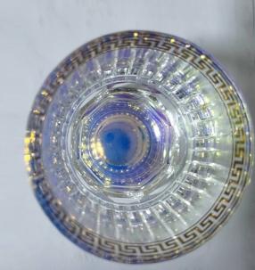 电镀玻璃装饰碗